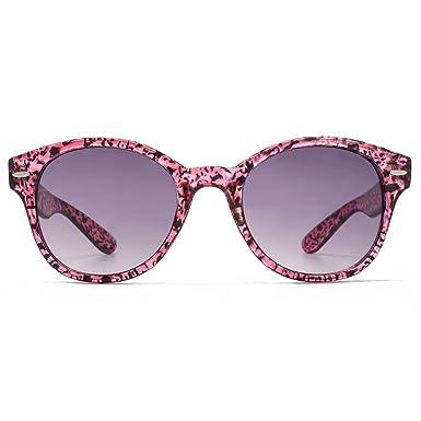 0c13b2050c0d M:UK Soho Preppy Round Sunglasses in Pink Speckle MUK147833: Amazon.co.uk:  Clothing