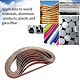 KKmoon 10pcs Grinding and Polishing Replacement Sanding Belt Grit Paper for Angle Grinder Machine