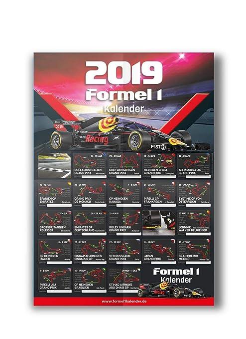 Formule 1 Calendrier 2019 Formule Eins Circuit Wall A1