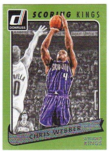 Basketball NBA 2015-16 Donruss Scoring Kings #34 Chris Webber Sac Kings -