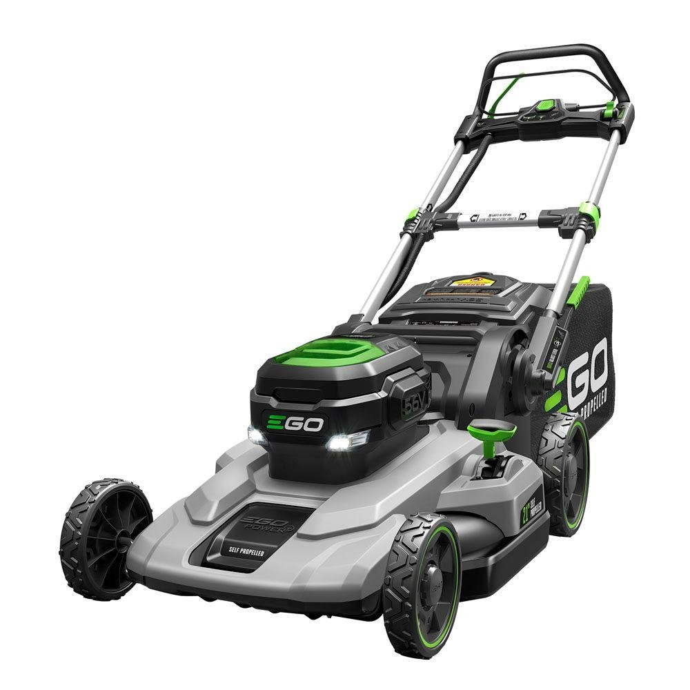 EGO LM2102SP 21'' Self Propelled Lawnmower with 7.5AH Battery & Rapid Charger