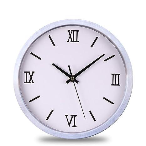 Kaige Relojes de pared Acero inoxidable metal dibujo tamaño ...