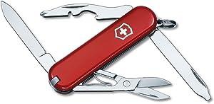 Victorinox Swiss Army Rambler Pocket Knife, Red ,58mm