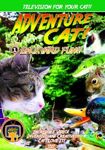 Pet Media Adventure Cat DVD Volume 1: Backyard Fun