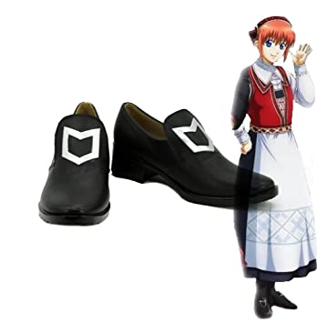 Gintama CosPlay Kagura HUIS TEN BOSCH Cosplay Shoes Boots Custom Made