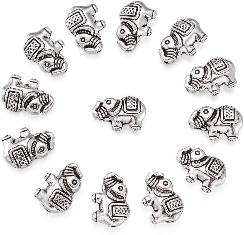 Tibet Style Bone Happy Lucky Elephant Shape Pendant Jewelry