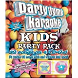 Party Tyme Karaoke - Kids Party Pack (32+32-song Party Pack) [4 CD]