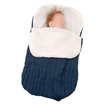 Hzjundasi Manta de Invierno para Bebé - Saco de Dormir para ...