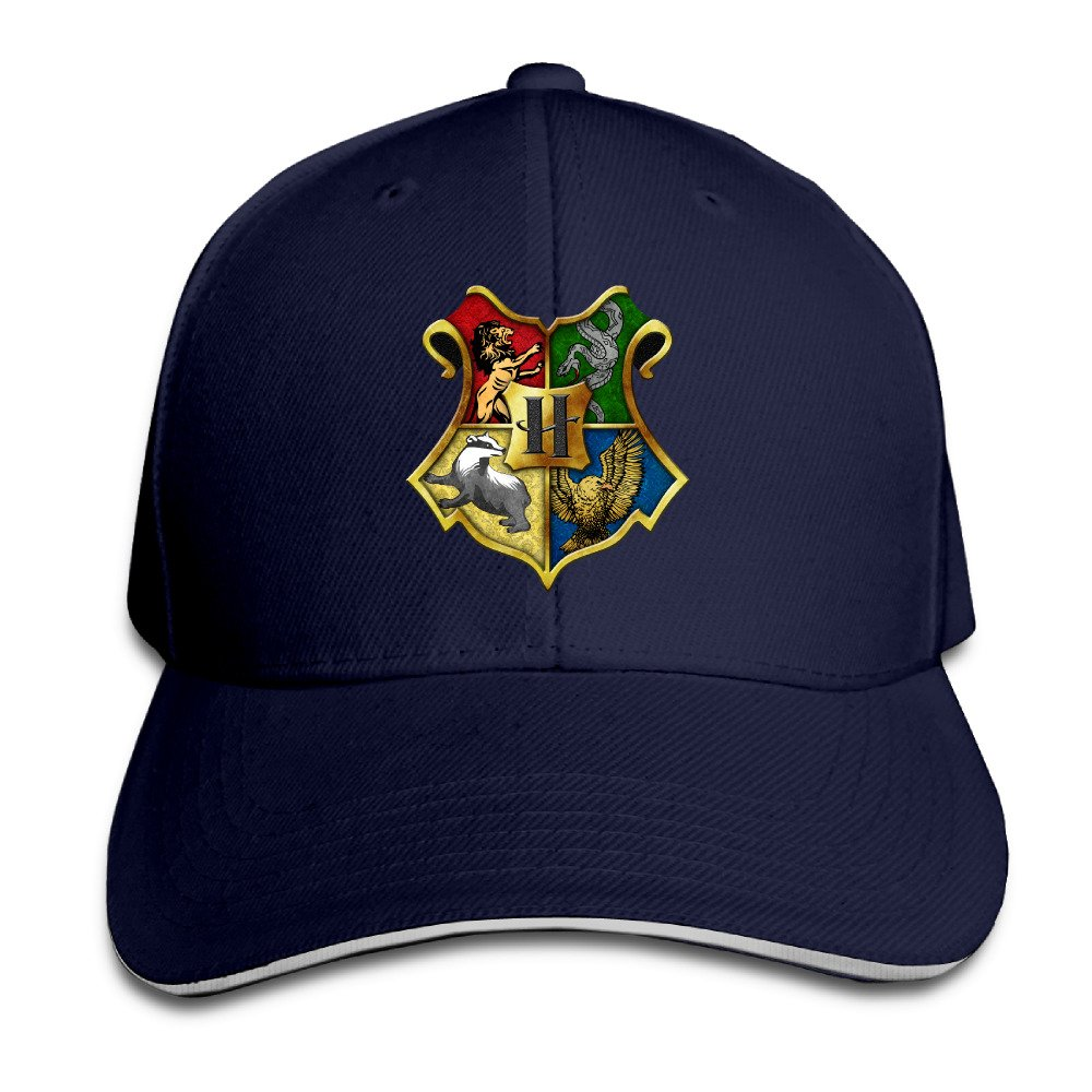 hittings Harry Potter Hogwarts Crest Super fabricado Unisex Peaked ...