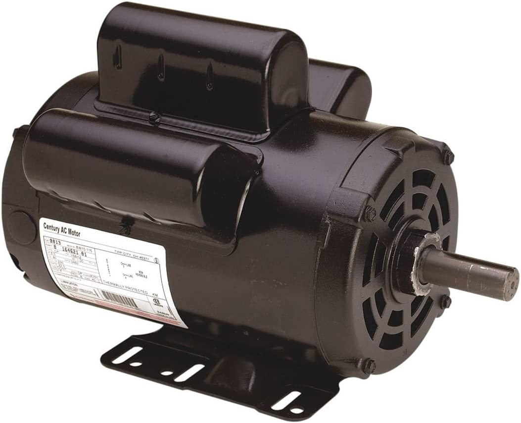 Air Compr Motor, 5 HP, 3450 rpm, 230V, 56HZ