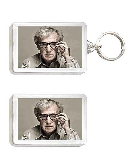Llavero y Imán Woody Allen: Amazon.es: Juguetes y juegos