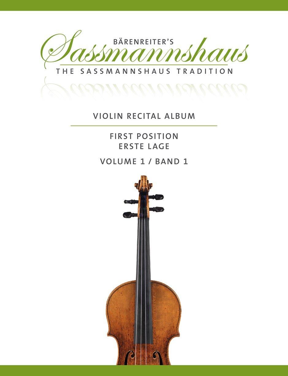 violin-recital-album-band-1-20-vortragsstcke-in-der-ersten-lage-fr-geige-und-klavier-oder-fr-zwei-geigen-partitur