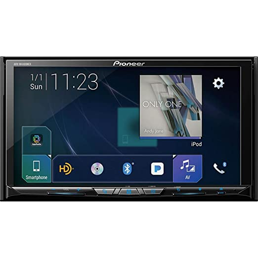 "Pioneer Avh W4400 Nex In Dash Multimedia Receiver With 7"" Wvga Clear Resistive Touchscreen Display by Pioneer"