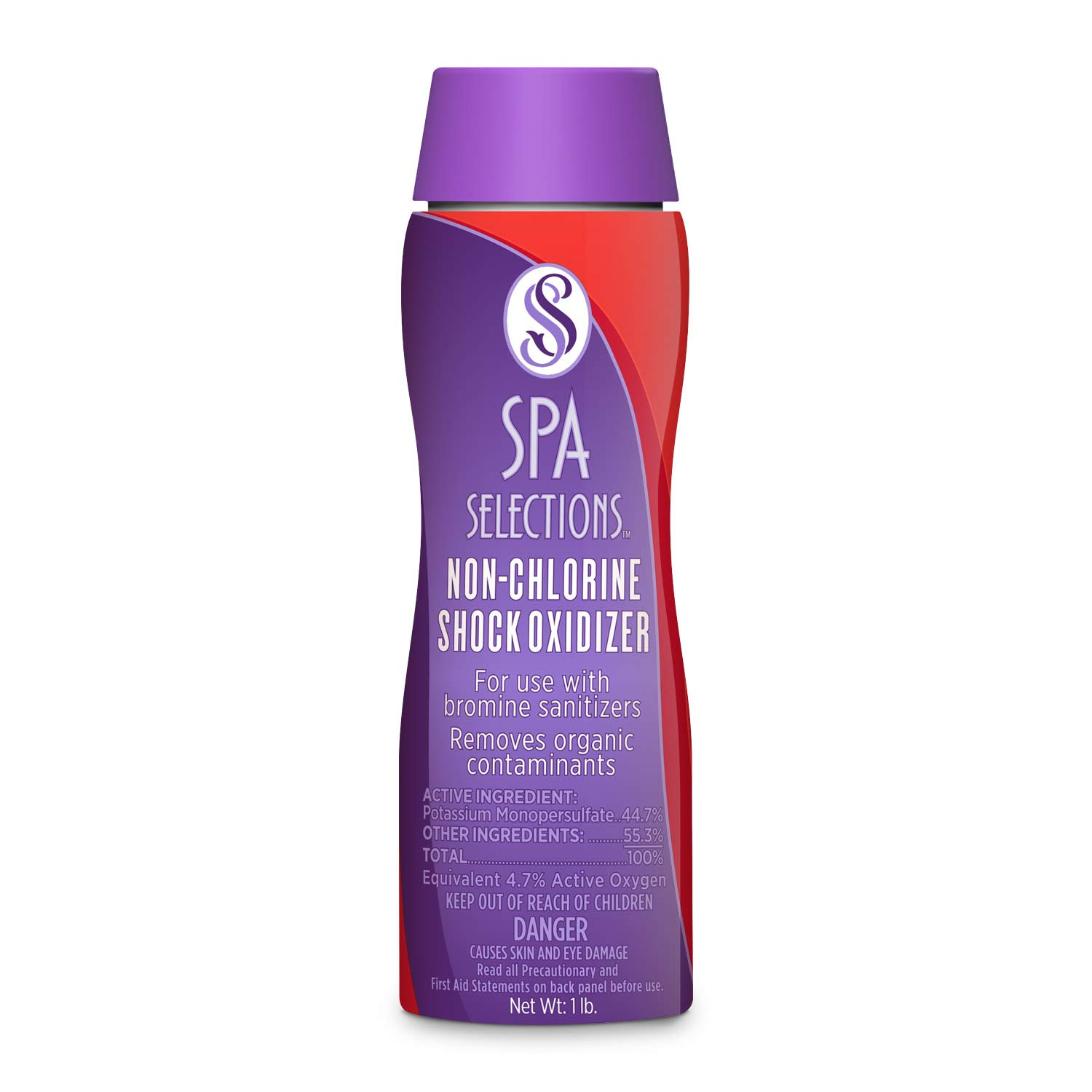Spa Selections 86207 Non-Chlorine Shock Oxidizer, Brown/A by Spa Selections
