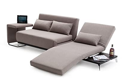 Amazon.com: J&M Furniture Premium Sofa Bed JH033 with End ...