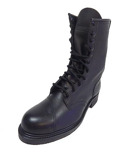 Amazon.com: Addison Men's Military Issue Steel Toe Leather ...