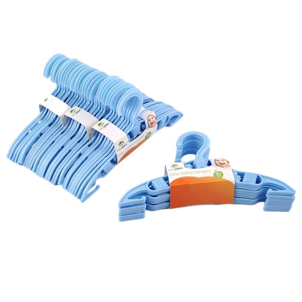 Kids Clothes Hangers, Outgeek 40 PCS Coat Hangers Plastic Durable Baby Hangers