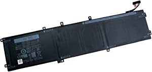 Fully New 4GVGH Replacement Laptop Battery Compatible with Dell XPS 15 9550 1P6KD - 11.1V 84Wh