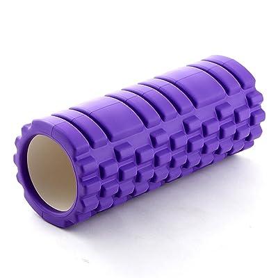 ZGBZZ Colonne de yoga, bâton de massage de rouleau de roue de rouleau de mousse, rouleau de mousse de relaxation musculaire, bâton de Langya de forme physique, EVA favorable à l'environnement, charge trois
