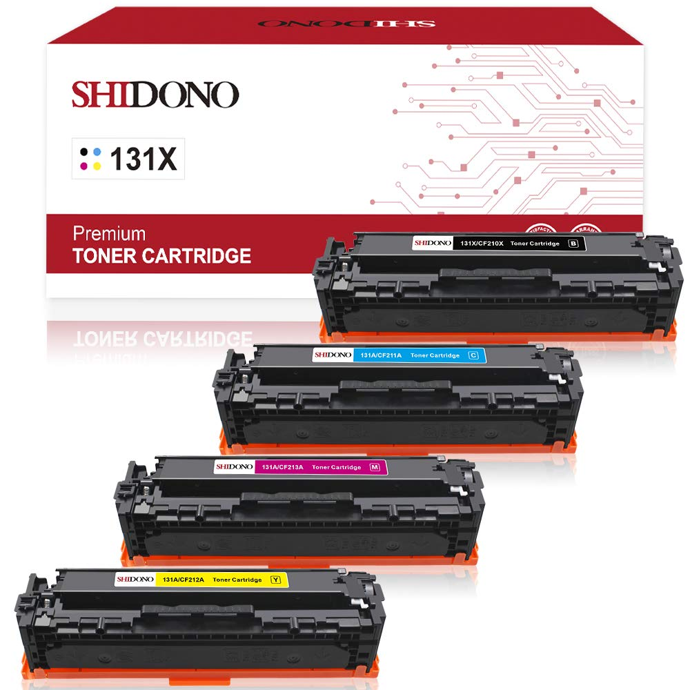 Shidono Compatible Toner Cartridge Replacement for HP 131X 131A Fits with Laserjet Pro 200 Color MFP M276nw/MFP M276n/MFP M251nw/MFP M251n Printer, ...