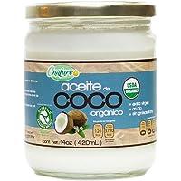 Enature Aceite de Coco Orgánico, Virgen, 420 ml