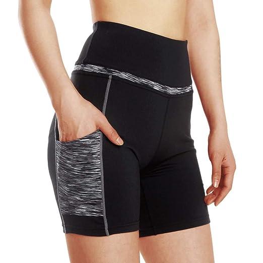 Shorts deportivos para mujeres Pantalones cortos de yoga de ...
