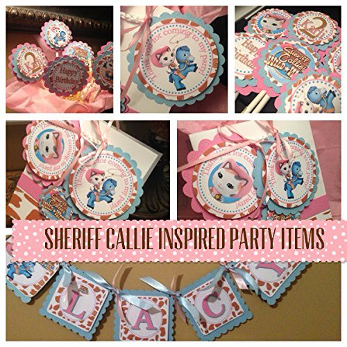 New.... Inspired SHERIFF CALLIE Mini Party