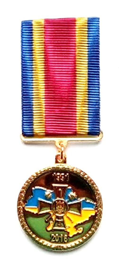 For Ukraine For her freedom 25 years of independence Ukrainian political medal Lmd