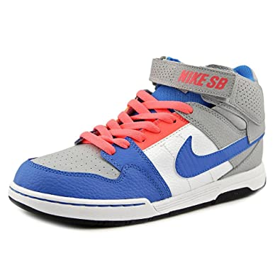 Nike Boys  Mogan Mid 2 JR Skate Shoe Wolf Grey Photo Blue hot 2e3fb525a2900