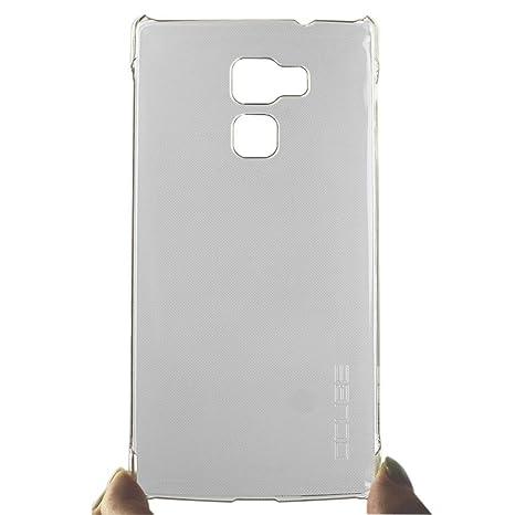 Ycloud Funda Libro para Vernee Apollo Lite, Cuero Hard Plastic PC Back Cover Case Carcasa Excelente Absorción de Golpes Anti-Sucio Blanco Transparente