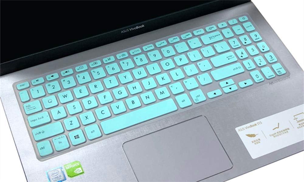 CaseBuy Keyboard Skin for 15.6 ASUS VivoBook S512 S530FA S530UA / ASUS VivoBook F512DA F512FA F512JA X512DA X512FA / ASUS VivoBook S17 S712 S712FA, ASUS VivoBook 15.6 Accessories, Mint