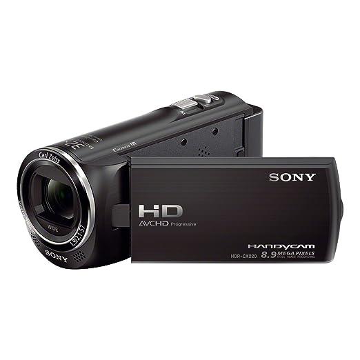 87 opinioni per Sony HDR-CX220 Videocamera Full HD, 8.9 Mpx, Sensore CMOS Exmor R, Nero