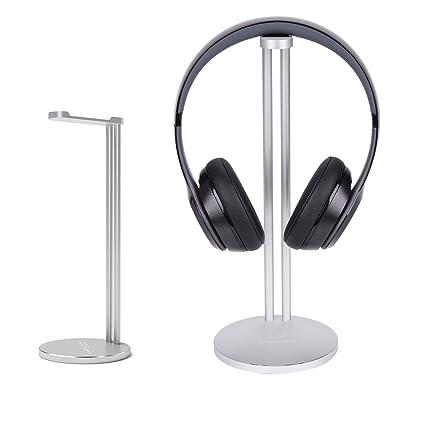 Soporte para auriculares, CASETOP aluminio soporte para auriculares, soporte para auriculares Bose, Beats