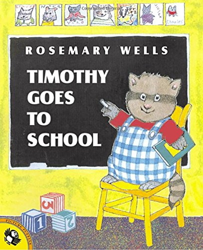 Timothy Goes to School: Rosemary Wells: 9780140567427: Amazon.com ...