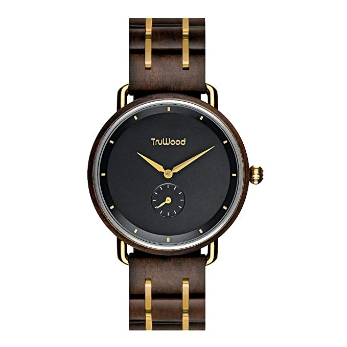 Tru Wood dark wrist watch