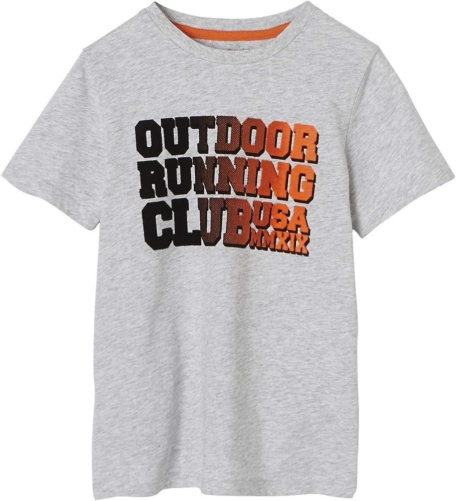 VERTBAUDET Camiseta Deportiva niño Gris Claro Jaspeado 2A: Amazon.es: Ropa y accesorios