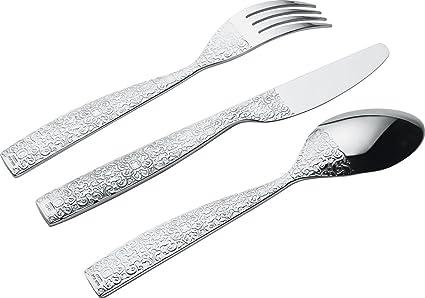 Alessi - Cubertería para 6 Personas (Incluye cucharas ...