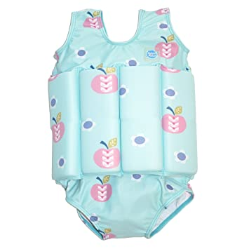 Splash About Kids Float Suit with Adjustable Buoyancy Apple Daisy 2-4 Years