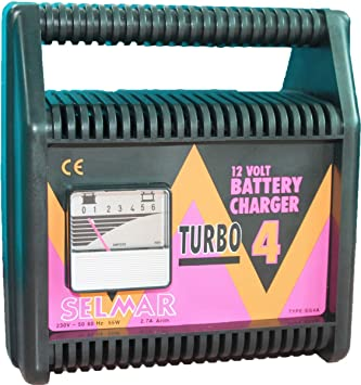 Selmar TURBO Battery Charger 12V 2. 7A