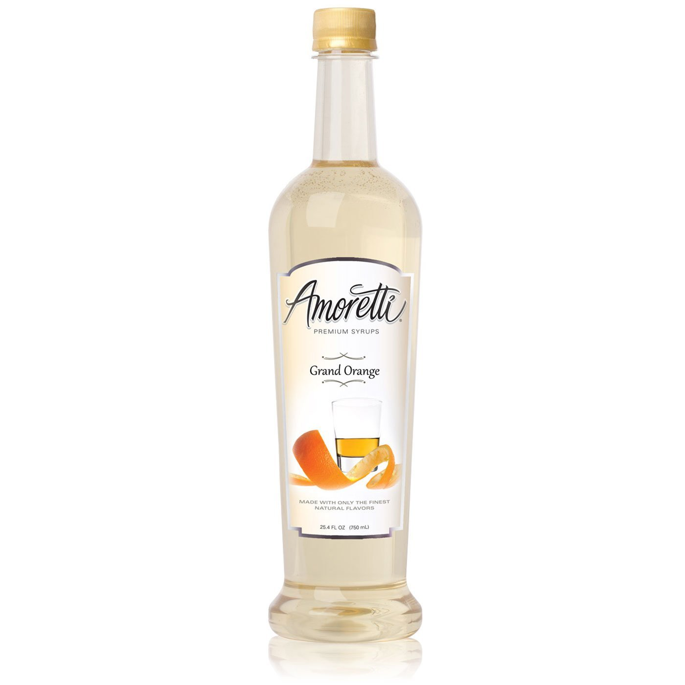 Amoretti Premium Syrup, Grand Orange, 25.4 Ounce