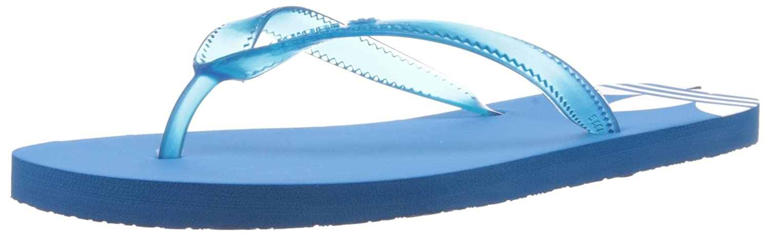 cde3fa0db adidas Originals Women s Adisun W Solar Blue2 and White Flip-Flops and  House Slippers - 4 UK  Buy Online at Low Prices in India - Amazon.in