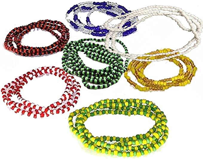 7 Collares De Santeria Ogun Elegua Obatala Shango Yemaya Orula Y Oshun Ifa Religion Yoruba Lucumi Arts Crafts Sewing