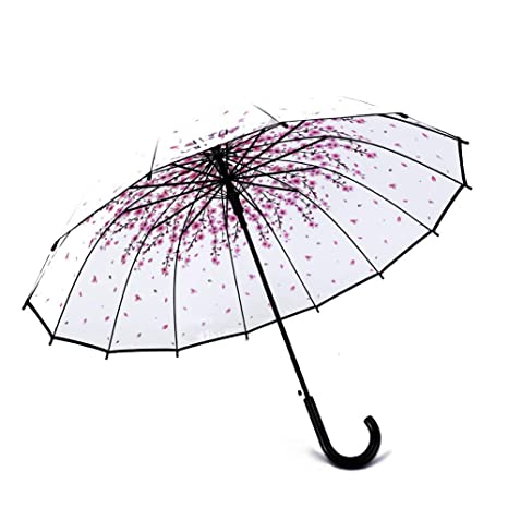 Amazon Com Feiuruhf Transparent Mushroom Umbrellarainproof Half