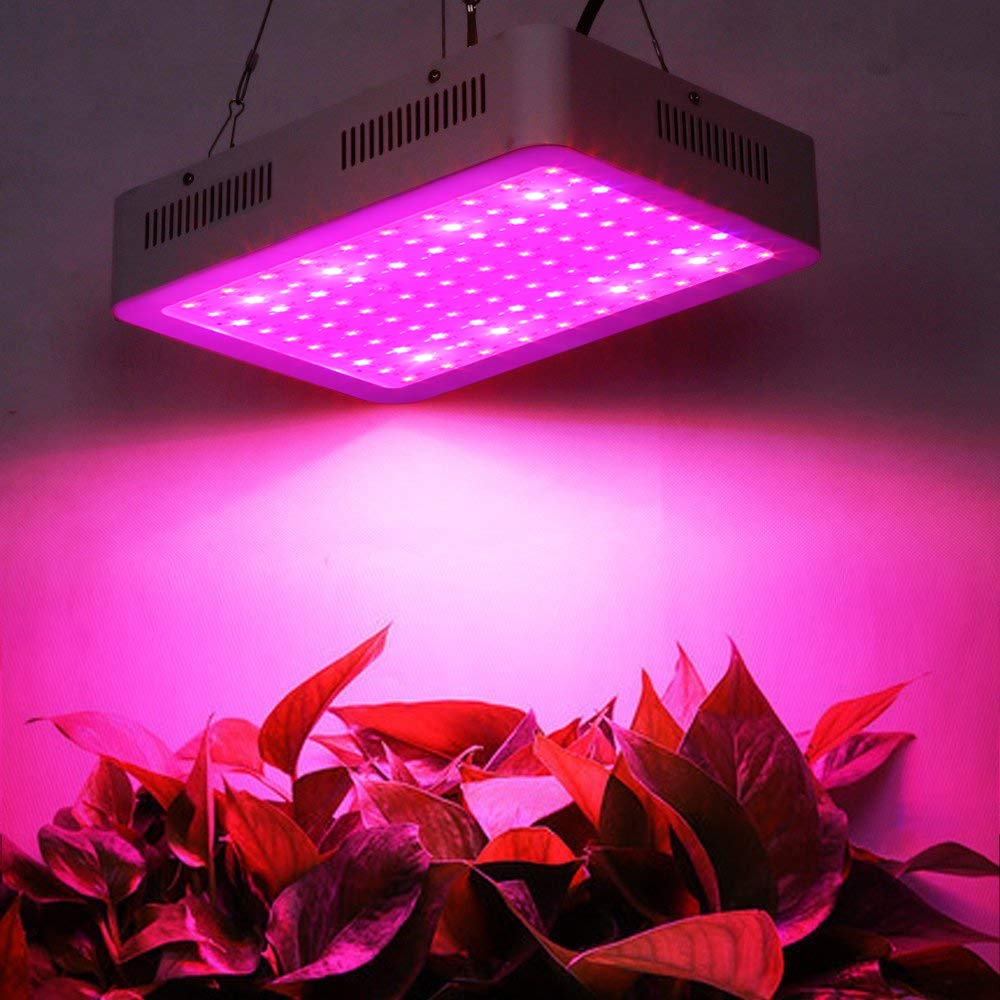 ZXMEAN 600W LED Plant Grow Light Dual Chips Full Spectrum with Adjustable Rope with UV and IR for Indoor Plants Veg and Flower,Input 85V to 265V by ZXMEAN (Image #7)