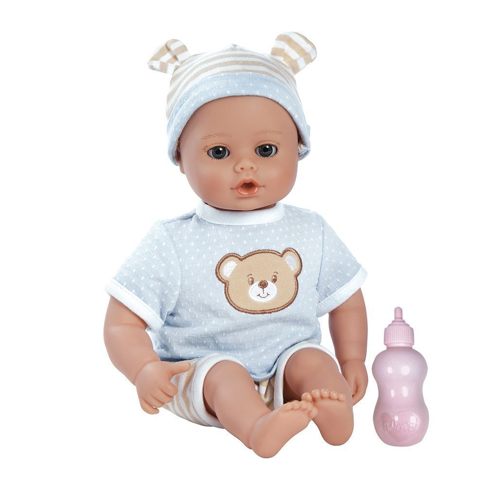 Adora 20203007 - Play Time Baby Beary Puppe, blau