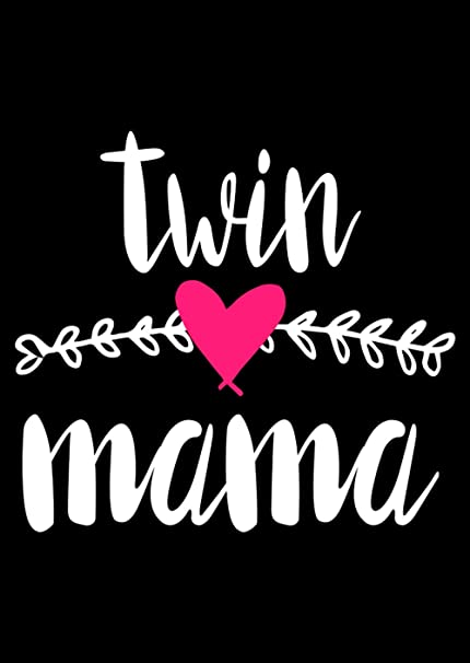 Home Of Merch Twin Mama Funny Gift For Mommy Poster Mom Mothers Day Premium Birthday