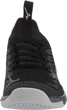 Black Sports Breathable Mizuno Mens TC-01 Training Gym Fitness Shoes