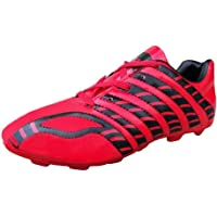 Port Women's Mystic Red Pu Soccer Shoes