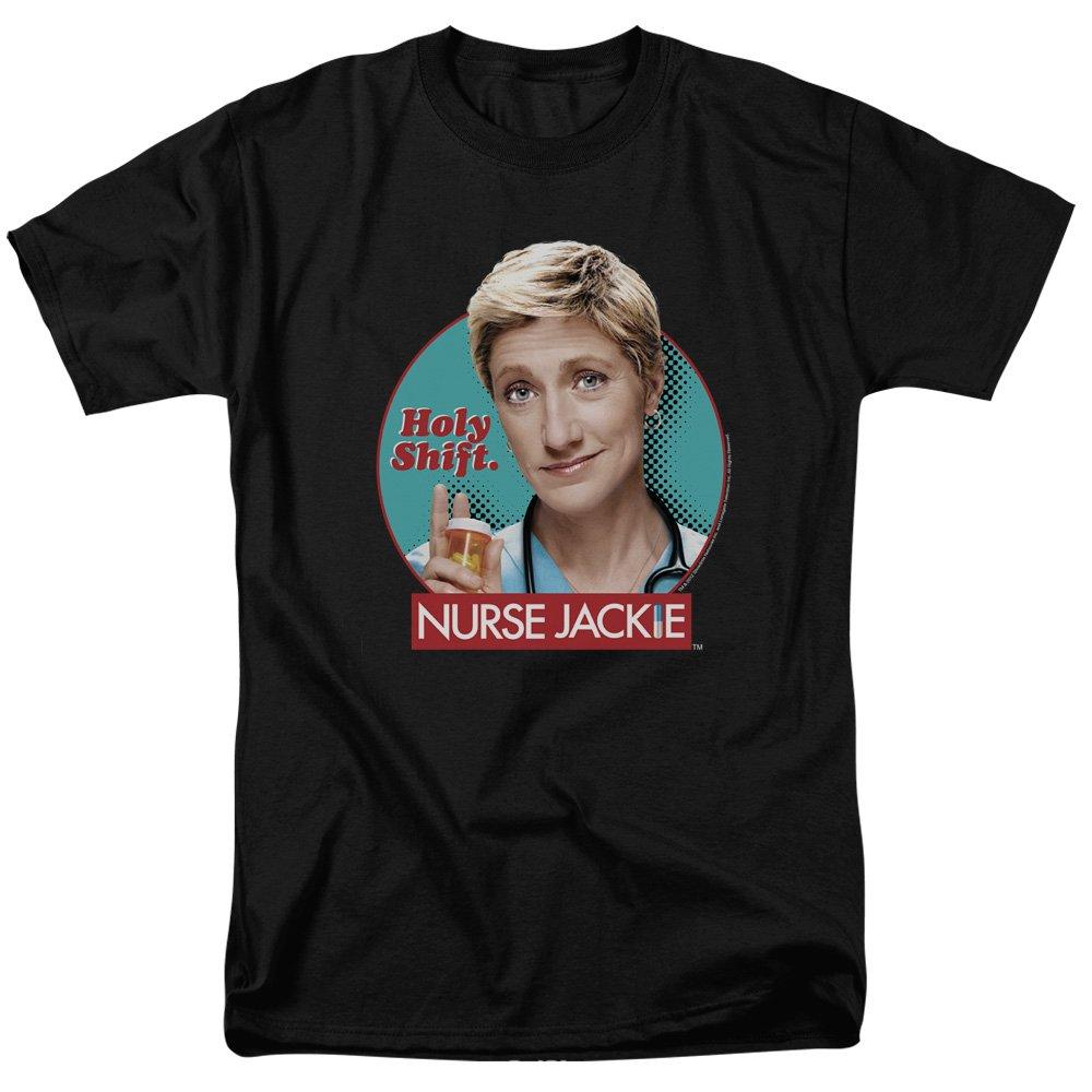Trevco Mens Nurse Jackie Logo Adult T-Shirt