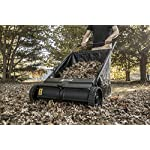 """Agri-Fab 45-0218 26-Inch Push Lawn Sweeper, 26 Inches, Black 9 Hopper bag: 7 cu. Ft. Capacity; collapsible hopper bag for easy storage WHEELS: 9. 75"""" x 2. 25"""" plastic wheels Assembly: some assembly required; a video instruction Guide is available to assist with the assembly process"""